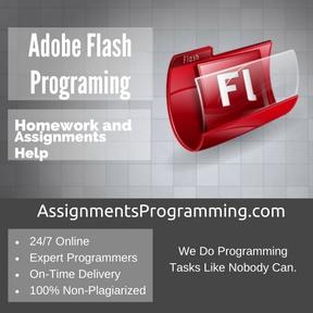 Adobe Flash Programing Assignment Help