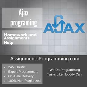 Ajax programing Assignment Help