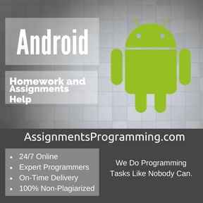 Android Assignment Help