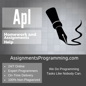 Apl Assignment Help