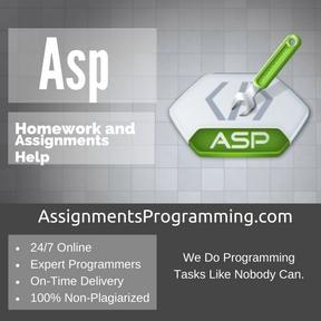 Asp Assignment Help