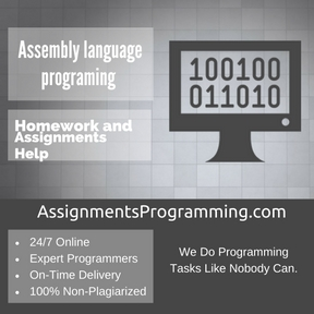 Assembly language programing Assignment Help
