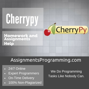Cherrypy Assignment Help