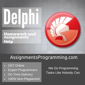 Delphi Assignment Help