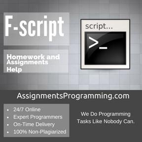 F-script Assignment Help