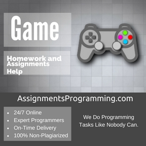 Game Assignment Help