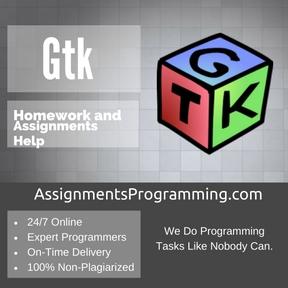 Gtk Assignment Help