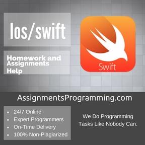 Ios/swift Assignment Help