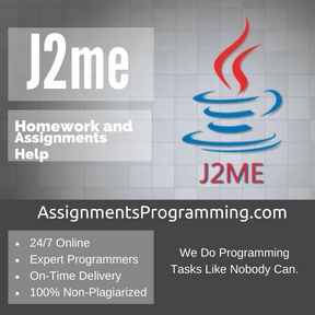 J2me Assignment Help