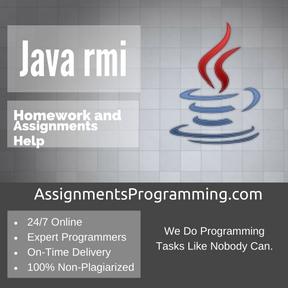 Java rmi Assignment Help