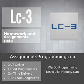 Lc-3 Assignment Help