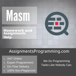 Masm Assignment Help