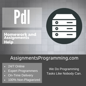 Pdl Assignment Help