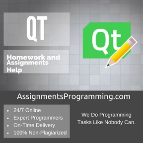 Qt Assignment Help