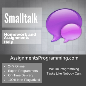 Smalltalk Assignment Help