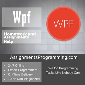 Wpf Assignment Help