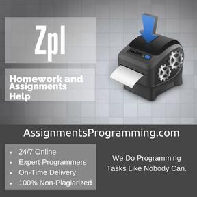 Zpl Assignment Help