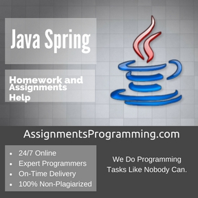 Java Spring Assignment Help